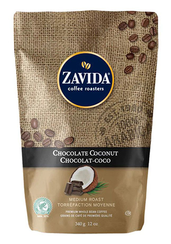 Cafea Zavida aroma cocos (Chocolate Coconut Coffee)