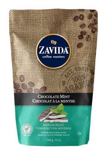 Cafea Zavida aroma menta (Chocolate Mint..